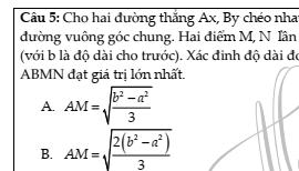 Chuyên đề cực trị trong hình học cổ điển- Phạm Minh Tuấn