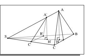 Bài tập tỉ số thể tích khối đa diện