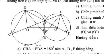 Chuyên đề đường tròn- Hình học 9-chương 2- Đầy đủ- Cực hay