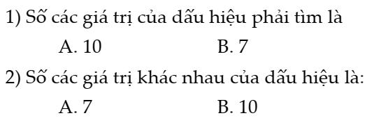 Đề kiểm tra 45 phút chương 3- Đại sô 7- Thống kê- FULL đáp án- Bản đẹp