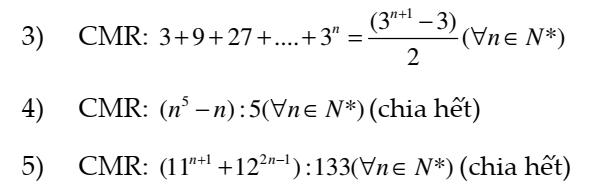 BÀI TẬP ÔN CHƯƠNG III-Dãy số- Cấp số cộng- Cấp số nhân
