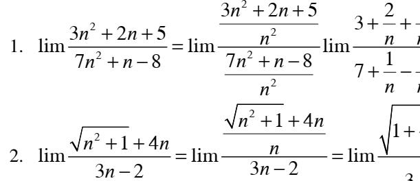 Tài liệu bồi dưỡng tự chọn nâng cao giới hạn của dãy số và hàm số