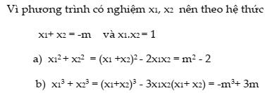 Chuyên đề định lí Vi-Ét và ứng dụng vào giải các dạng toán chi tiết