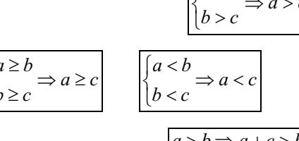 Chuyên đề bất phương trình bậc nhất một ẩn- Đại số 8 chương 4- Full lý thuyết và bài tập