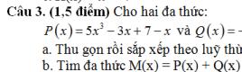 Bộ đề ôn thi HK2- Toán 7- Nhiều đề đầy đủ dạng toán