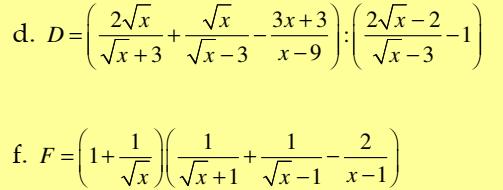Chuyên đề: Rút gọn biểu thức- Đại số 9 chương I: Căn Bậc hai- Đầy đủ Phương pháp và giải chi tiết