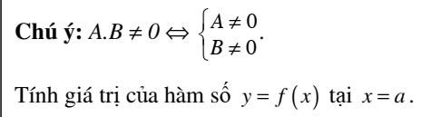 Chuyên đề đại cương về hàm số - Đại số 10 chương 2