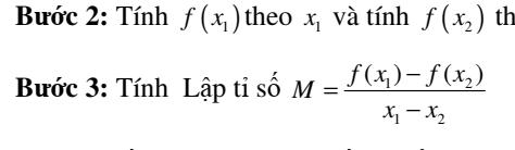 Sự biến thiên của hàm số theo định nghĩa- Đại số 10