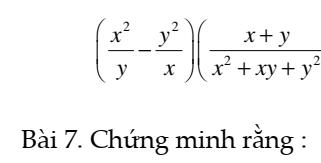 Chuyên đề phân thức đại số- Chương 2- Đại số 8- Đầy đủ