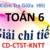 Đề kiểm tra giữa kì 1- Toán 6- CD-CTST-KNTT- Giải chi tiết